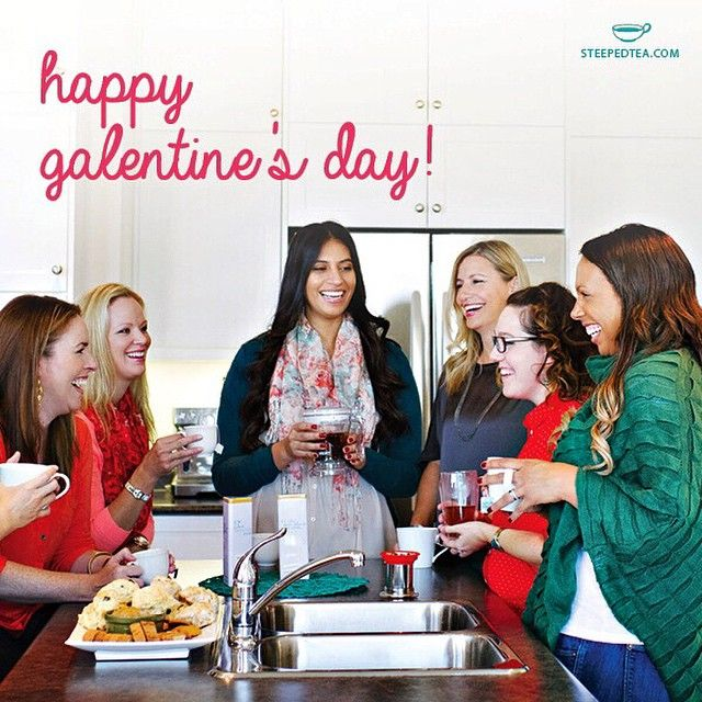 Happy GALentine's Day! Which Steeped Tea will you be sharing with your favorite gal pal today? #steepedtea #tea http://www.steepedtea.com