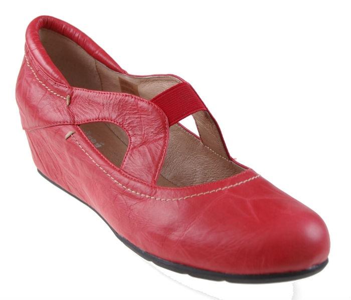 Cassini comfort shoe hidden wedge