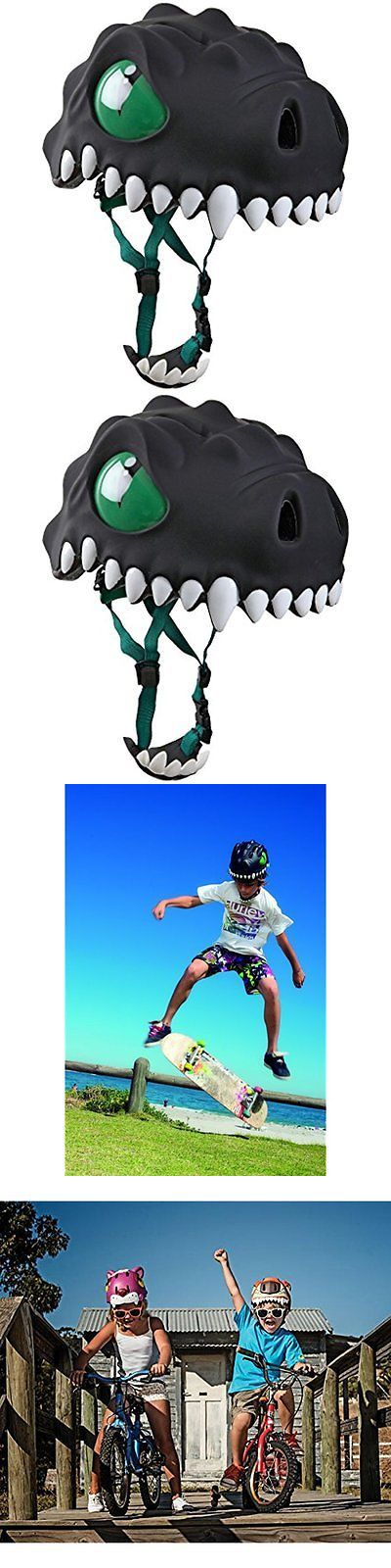 Bells and Horns 123474: Crazy Safety Prem Black Kids Helmets Dragon Helmet -> BUY IT NOW ONLY: $62.78 on eBay!