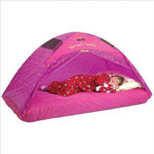 Pacific Play Tents Secret Castle Double (Full Size) Bed Tent: Tent Secret, Play Tents, Pacific Plays, Plays Tent, Beds Tent, Castles Twin, Twin Beds, Bed Tent, Secret Castles