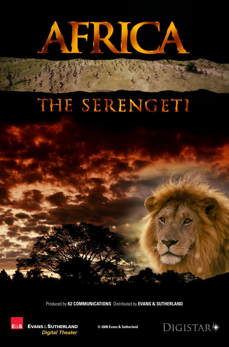 Africa: The Serengeti , starring James Earl Jones. The Serengeti is a huge area of grassland in Tanzania, Africa. Once a year, in the time of drought,... #Documentary #Short