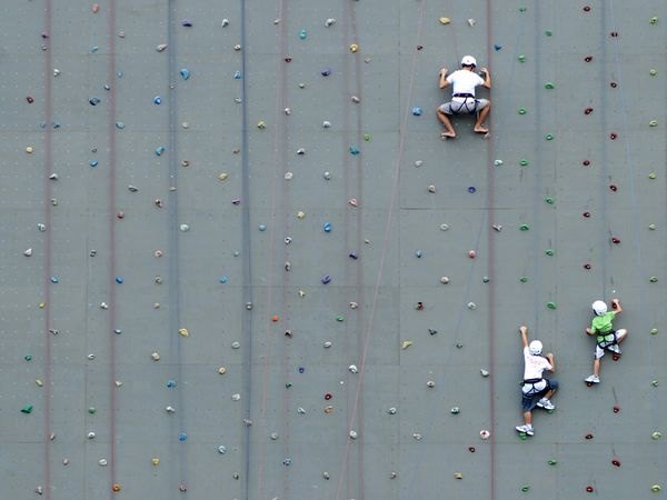climbing wall, singapore. @Jacklyn Uy @Boogie Mortel i miss our tuesday sessions of climbing the wall with Shane haha
