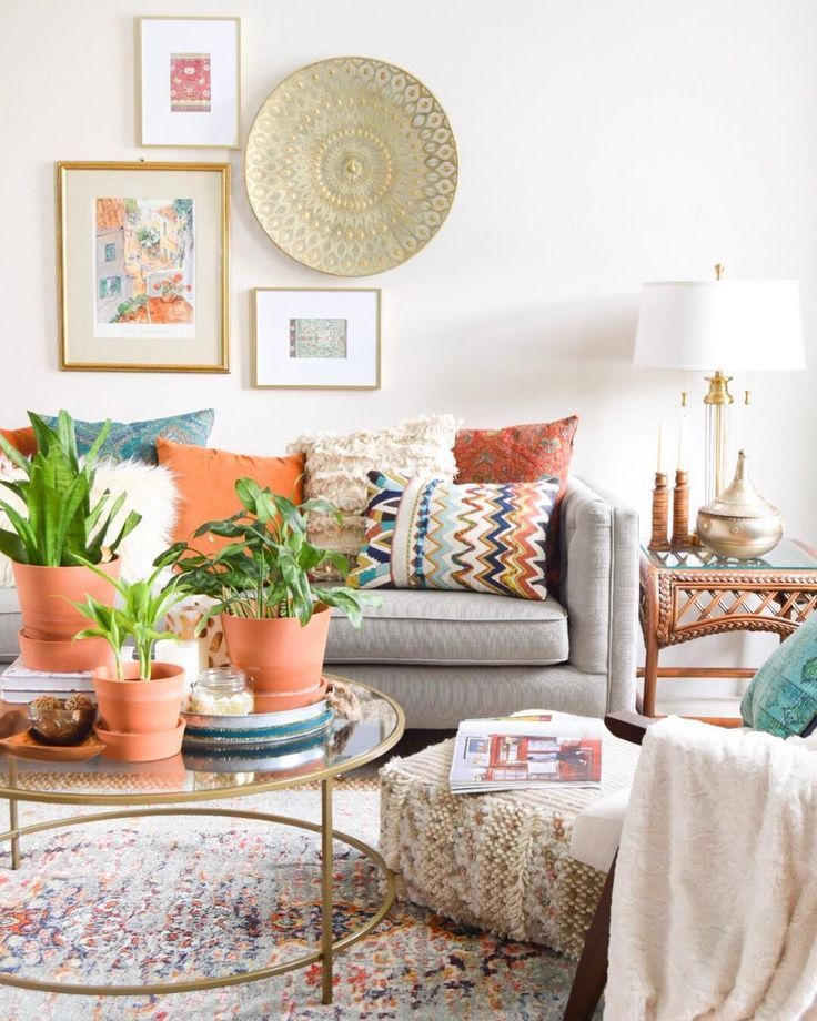 How To Incorporate Global Decor In Your Home Eclectic Living Room Global Decor Boho Living Room