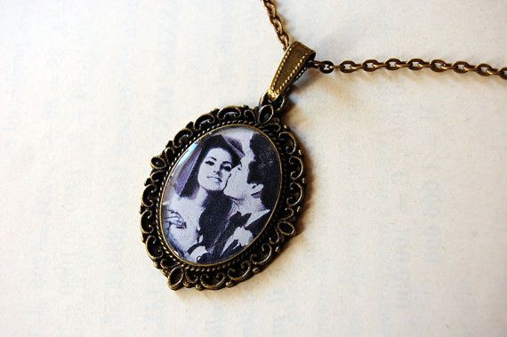 Elvis and Priscilla Presley on their wedding day by Blingstopaythebills, €16.00
