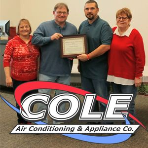 Did you see our most recent Employee of the Year awards? Congratulations Jason!  Call us at 903.675.9138 Online atwww.coleac.com  #coleac #coleairconditioning #cole#air #conditioning #heating #refrigeration #airconditioning #ac #kitchen #appliances #kitchenappliance #airsystems #systems #industrial #industry #industrialairsystems #residential #hvac #athens #athenstexas #athenstx