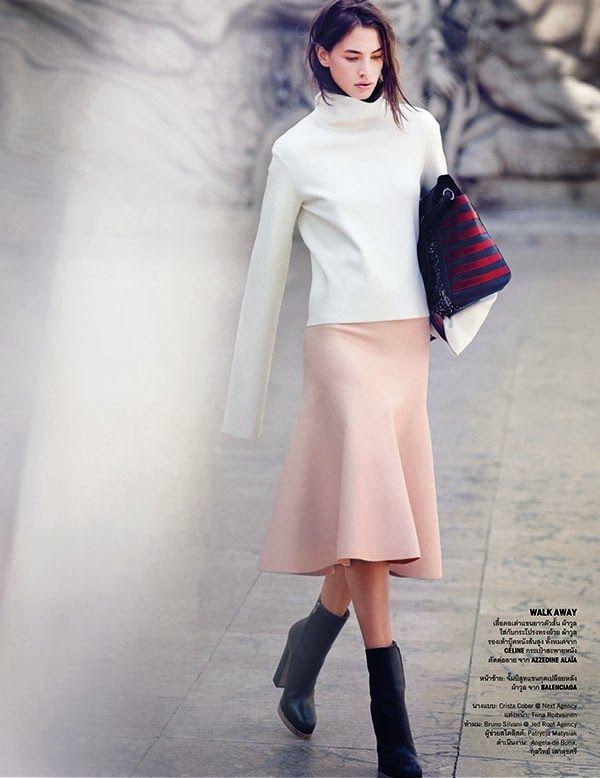 {fashion inspiration | editorial : vogue thailand september 2013}