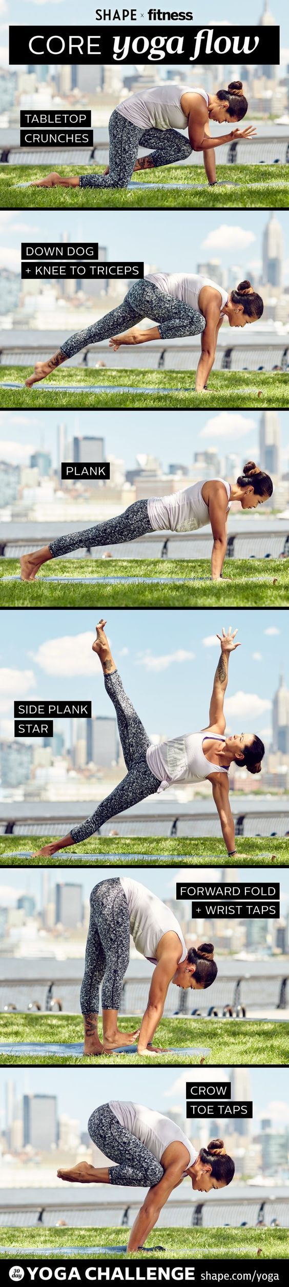 DownDog Yoga for Fun & Fitness: Core Yoga Flow. From the Downdog Diary Yoga Blog found exclusively at DownDog Boutique