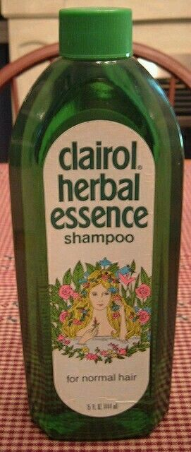 Clairol Herbal Essence aka The Green Shampoo & The Flower Lady Shampoo. I can smell it through the screen, this scent was so clean & refreshing. I don't know why this company hasn't brought this product back.  70s 80's.     G;)