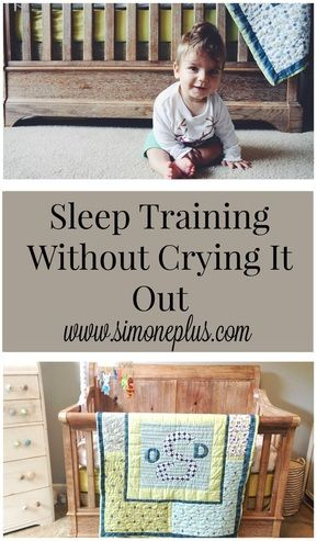 Some great tips about teaching your little one to sleep on their own after months of co-sleeping WITHOUT crying it out.