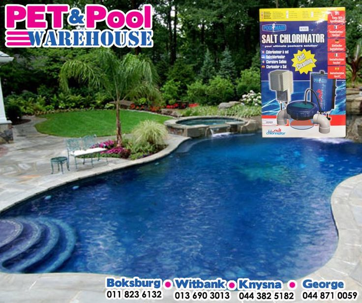 The #Poolmaid Salt Chlorinator makes it easier and more economical to own a swimming pool by automatically dosing and regulating the chlorine level. Get yours from your nearest #PetPoolWarehouse branch.