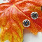 Mystic Topas, rund, Ø 10 mm, Ohrringe, Ohrstecker, Silber plattiert