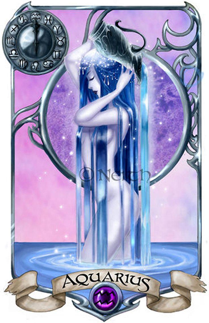 AstroSpirit / Aquarius ♒ /Air / Verseau par Neith