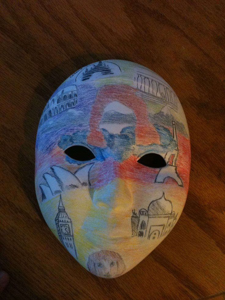 personality mask: Ideas Masks, Art Fun, Creating Diy, Personality Mask, Sculpture Lessons, Craft Ideas, 1 200 1 600 Pixels
