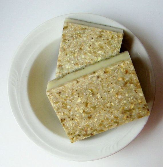 Herbal Soap Rosemary Lavender Bud Oatmeal Natural by FairyBubbles, I ...