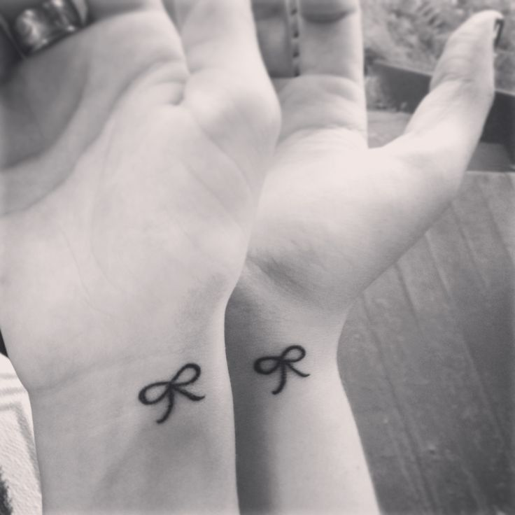 tied together forever. #tattoo #bestfriends #sisiters