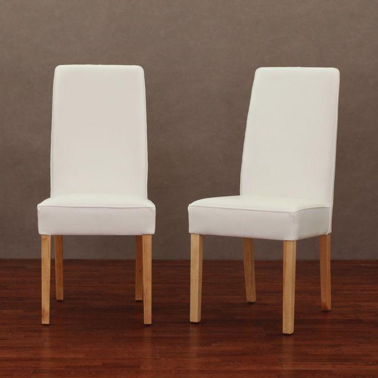Die besten 25+ White leather dining chairs Ideen auf Pinterest