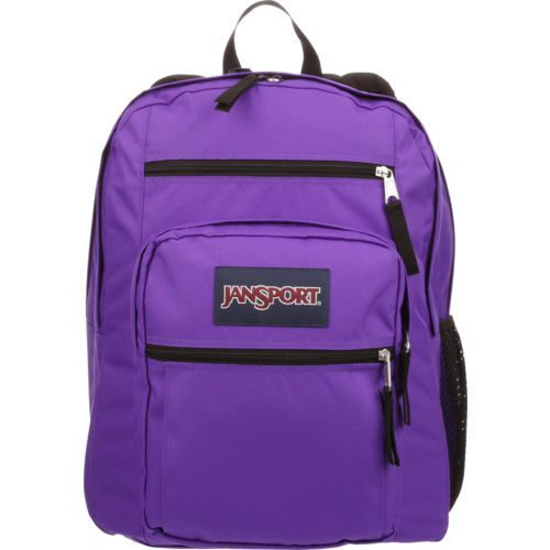 JanSport Big Student Backpack Purple Bright 05 - Backpacks at Academy Sports