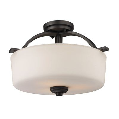 Z-Lite 220SF 3-Light Arlington Semi Flush Mount Ceiling Light