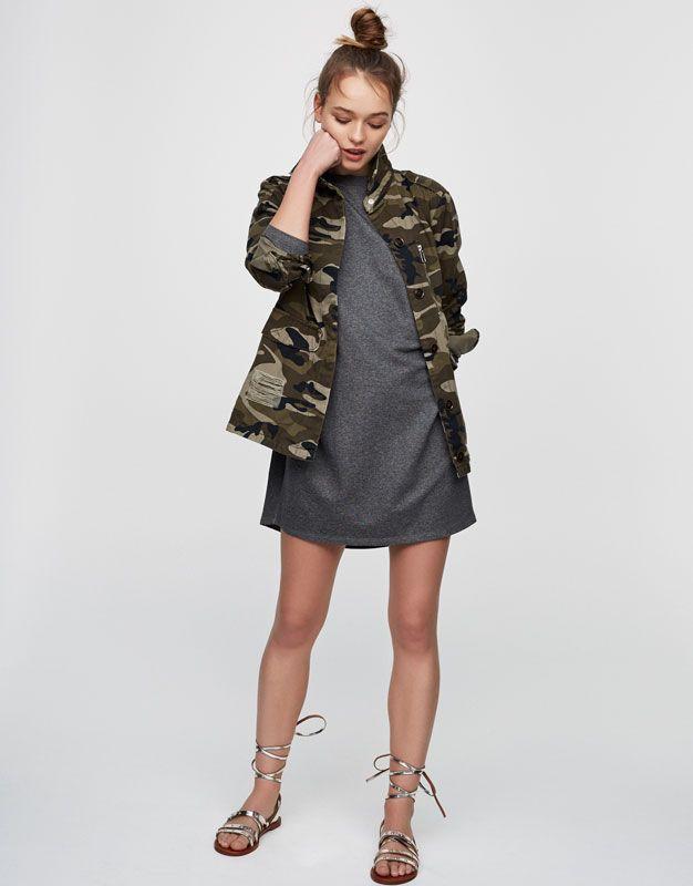 Robe bouffante - Robes - Vêtements - Femme - PULL&BEAR France