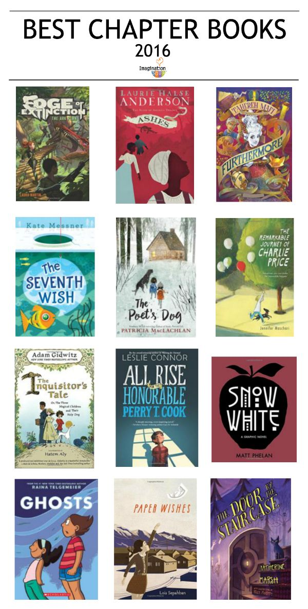 check out these best chapter books 2016 for kids and give as gifts!