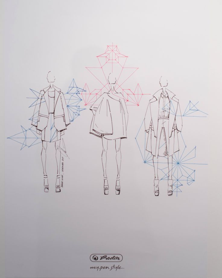 Sketch by Barre Noire at #MBFWB