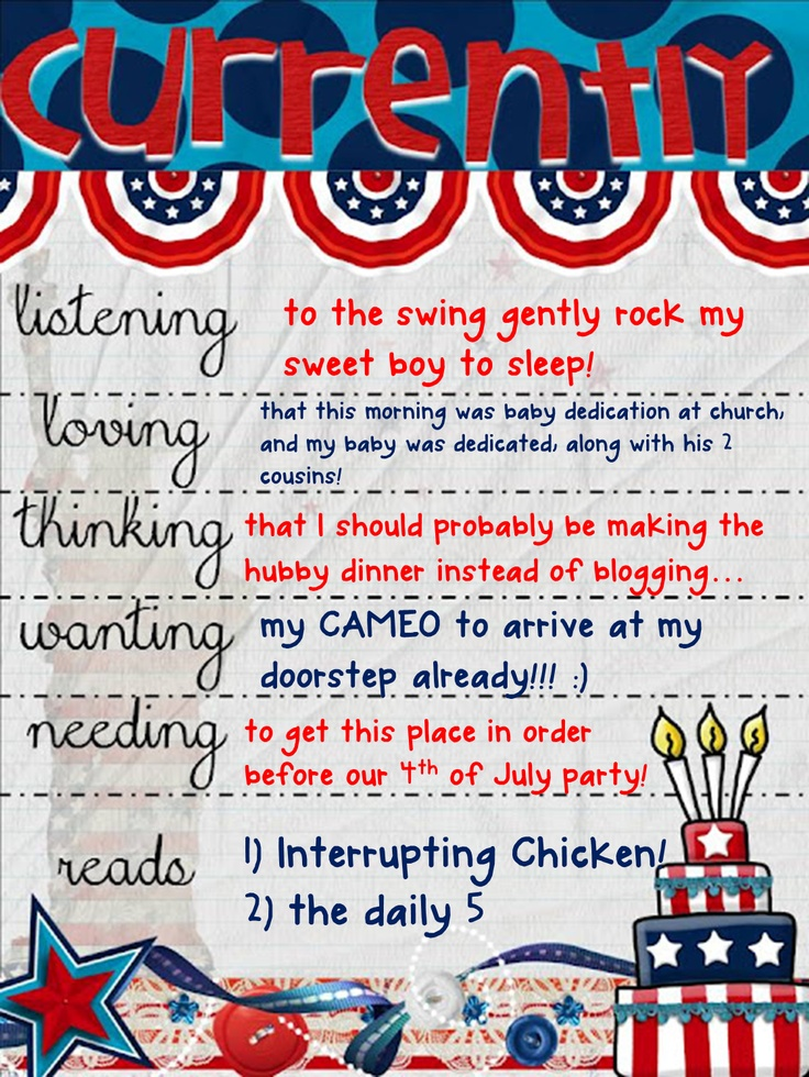 4th july 2013 written update