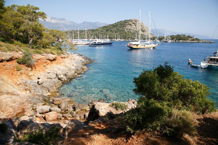 Boat trips from #Oludeniz Beach and #Fethiye harbor #Turkey