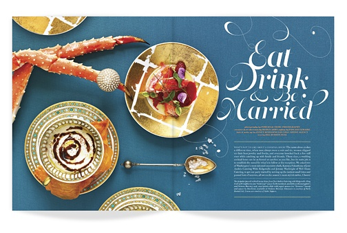 ★ DESIGN ARMY – Washingtonian Bride & Groom: Eat, Drink, and Be Married (Editorial Design and Art Direction) © Design Army LLC #catalog #photography