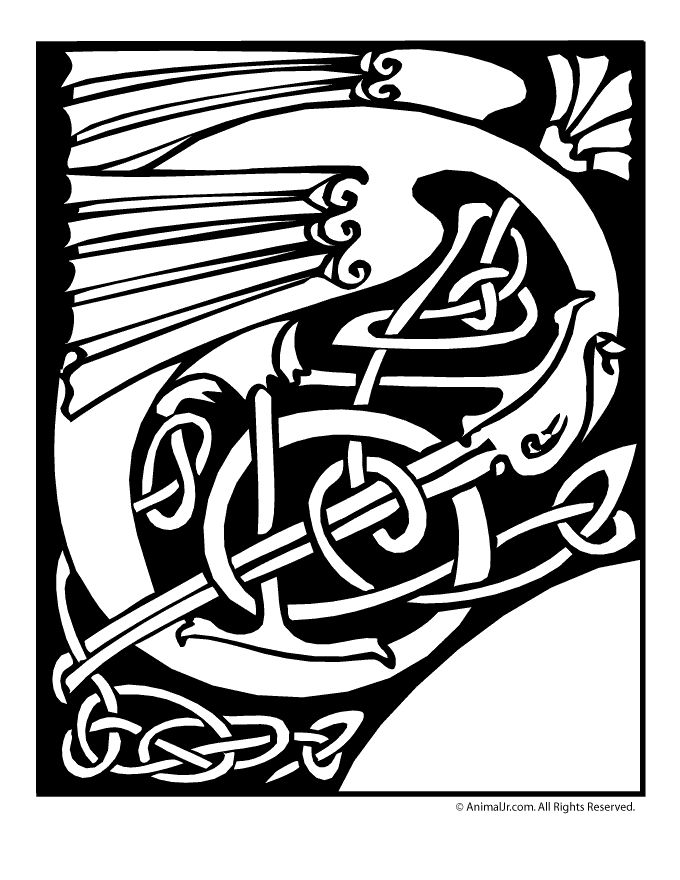 17 Best Images About COLORING CELTIC On Pinterest