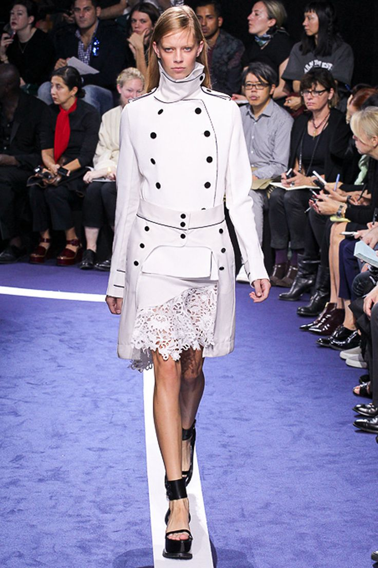 Sacai SS15 RTW white ensemble