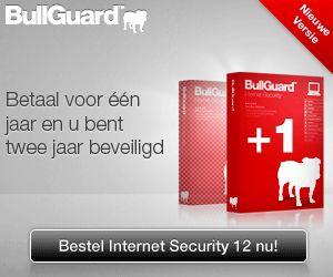 Bullguard.com   Bullguard.com: veilig en eenvoudig  Internetbeveiliging moet net als water uit de kraan zijn: het moet er altijd zijn. Het is geen luxe die men zich alleen permitteert wanneer het gelegen komt - het is een basisbehoefte in het dagelijkse leven.