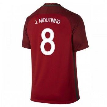 Portugal 2016 Joao Moutinho 8 Hemmatröja Kortärmad   #Billiga  #fotbollströjor