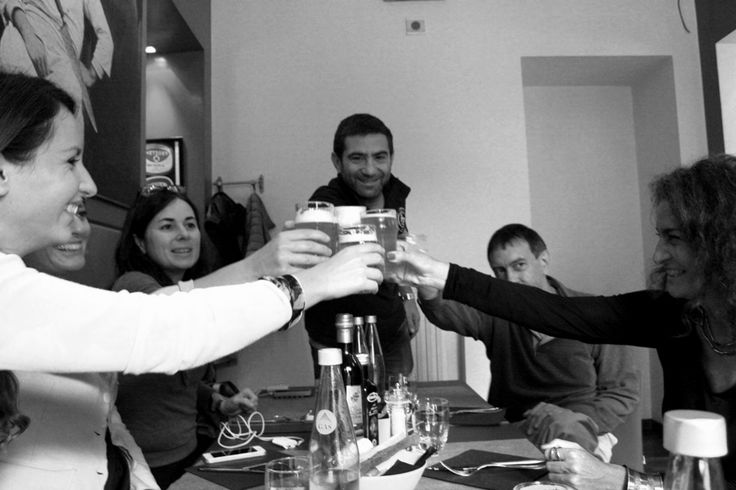 Birrificio LaPiazza un brindisi con Gianluca e @carlovischi - #socialfoodewine- Ph. C. Pellerino