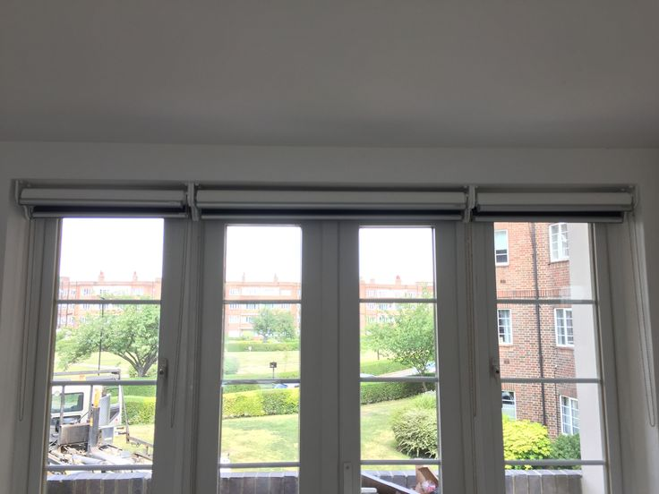Double/dual Roller Blinds | Blackout And Sunscreen Roller Blinds | Blinds  For French Doors
