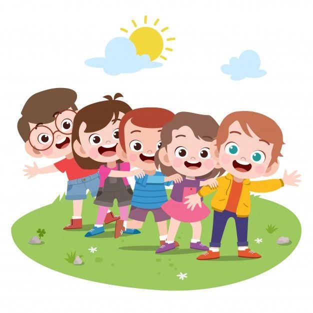 Niños Felices Jugando Juntos Vector Prem Premium Vector Freepik Vector Escuela Ninos Ver Imagenes De Niños Felices Niños Felices Caricaturas De Niños