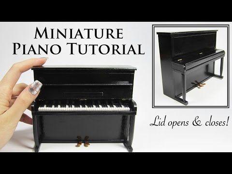 Miniature Piano Tutorial