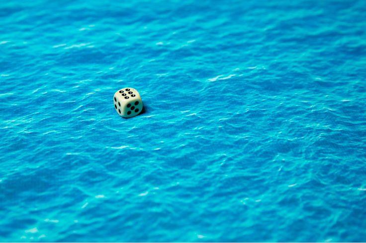 """Deep blue 72""""x48"""""""