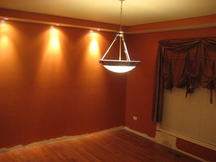 1000 images about home renovation diy on pinterest for Burnt orange dining room