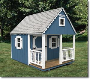 Building a Crooked Playhouse | Wooden Playhouses | Playhouse Kits | Custom Playhouses | Playhouses