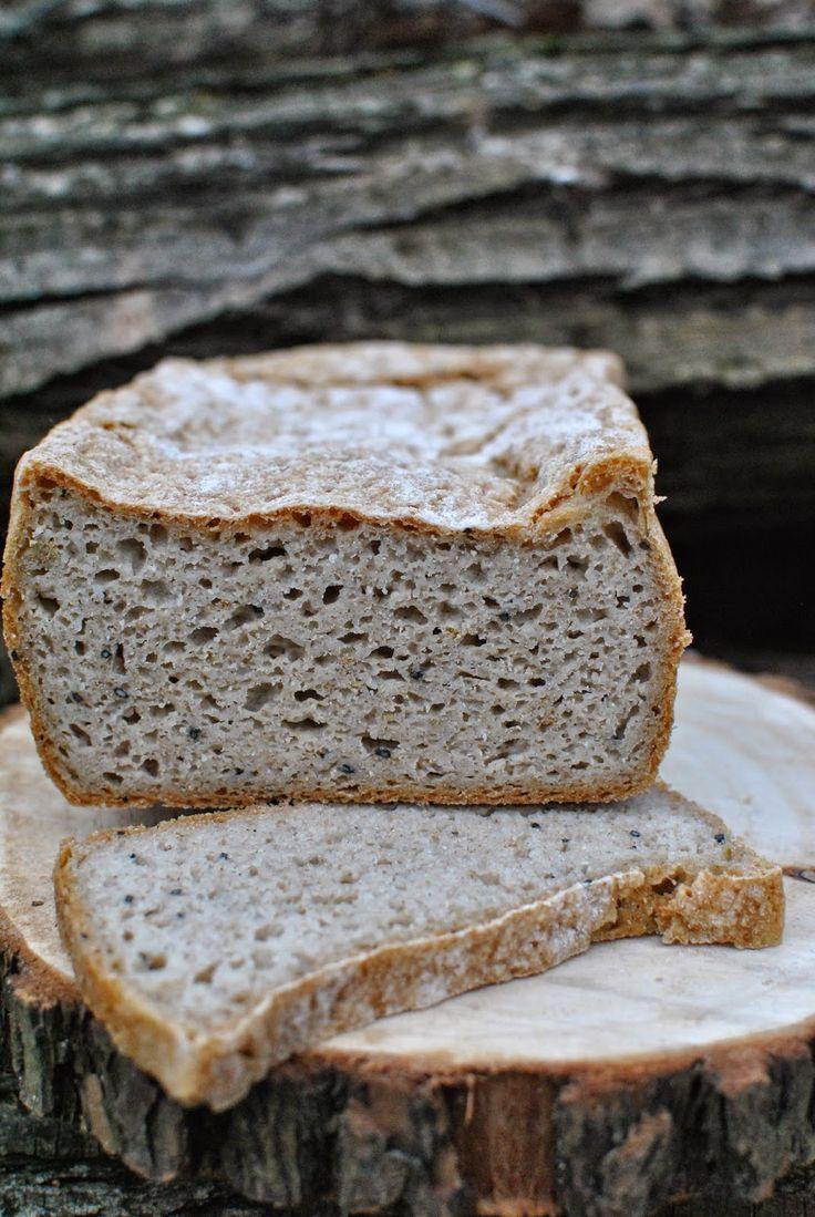 Bon Appétit Małgorzaty, czyli blog kulinarny: Chleb bezglutenowy (amarantusowy)