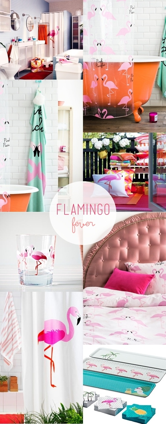 flamingo prints / ikea + H home