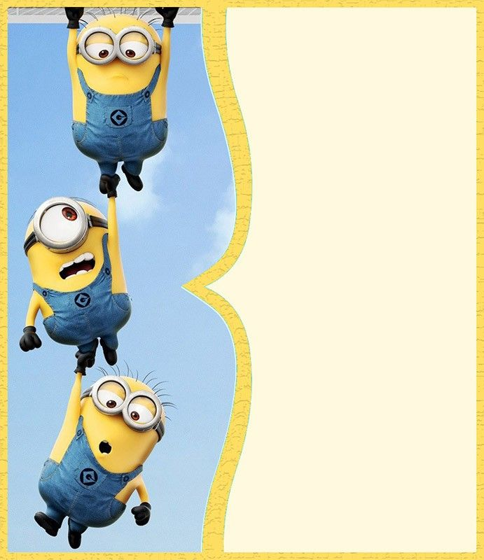 image regarding Minions Printable Invitations named Minion Invites The Excellent of 2018 minions social gathering
