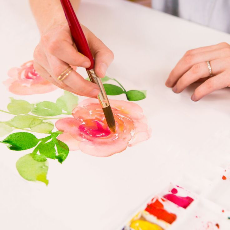 Watercolor Painting Online Class | Brit + Co. Shop | DIY Online classes, DIY kits and creative products from makers you'll love.
