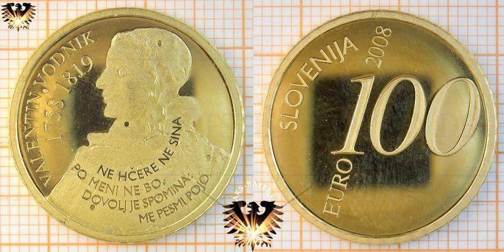 Valentin Vodnik's commemorative coin #ValentinVodnik #Slovenia #SloveniaHistory #SloveniaCulture #visitSlovenia #Culture #poet