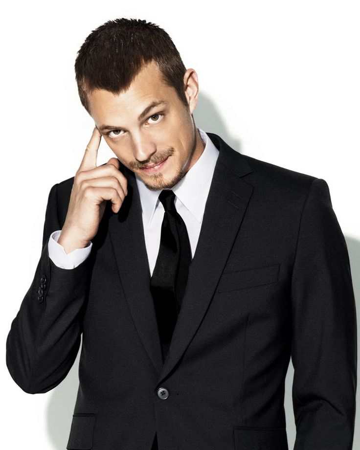 "Joel Kinnaman, ""Bag O Tricks""  The searching puppy dog look, The Sway, The wide stance, The ""duck feet"", The Baby Grin, The Peach Fuzz,  The Potential for More."