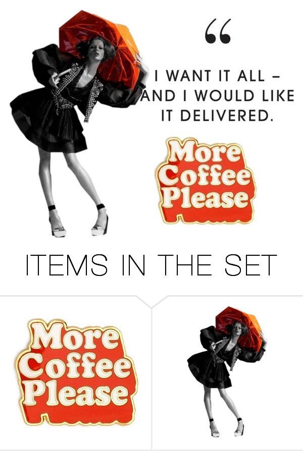 """Coffee Delivery"" by aqualyra ❤ liked on Polyvore featuring art"
