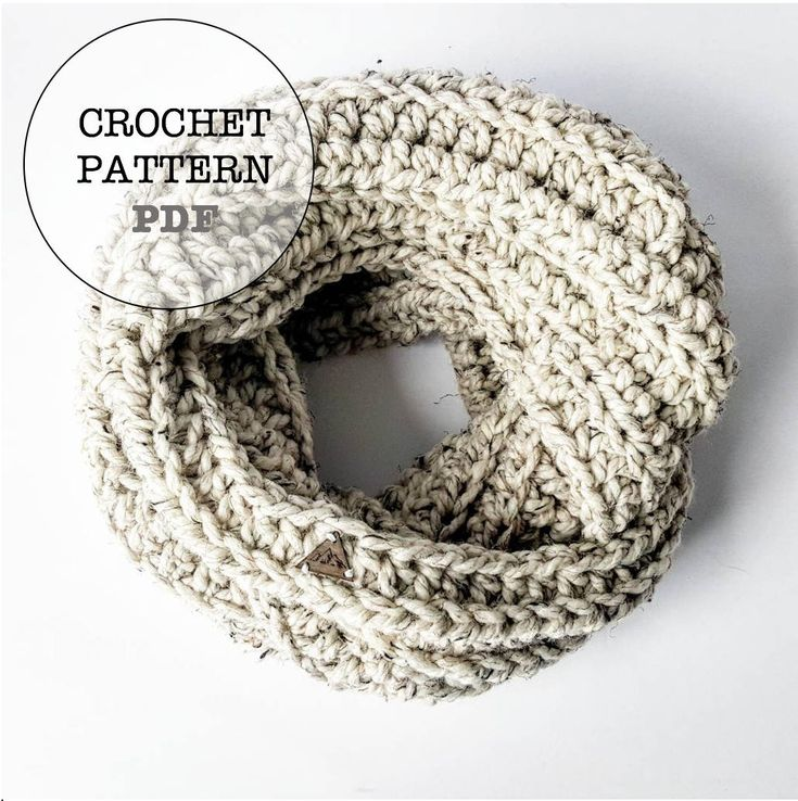 Excited to share the latest addition to my #etsy shop: Crochet Pattern / Crochet Infinity Scarf Pattern / Whiteowlcrochetco Infinity Scarf Pattern / Crochet Ribbed Infinity Scarf Pattern #crochet #crochetpattern http://etsy.me/2HOc6Hs