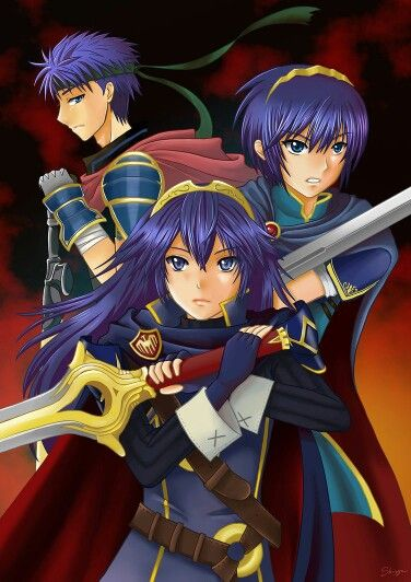 Ike, Marth and Lucina | smash?? | Fire Emblem, Fire emblem ...