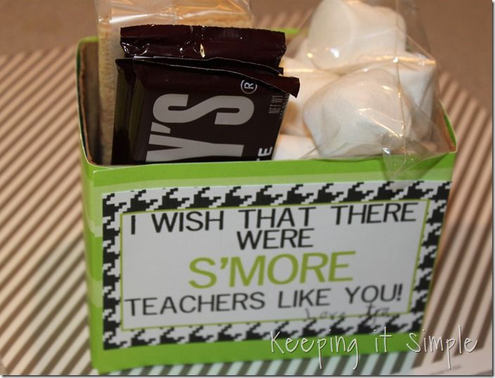 Keeping it Simple: Smore teacher gift with free printable and Orange you glad its summer ? printable