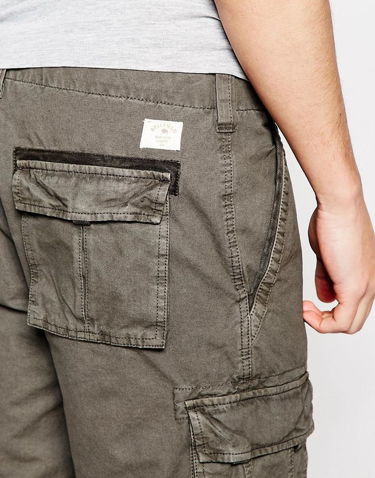Image 3 of Bellfield Cargo shorts
